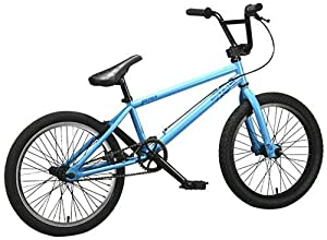 DK 6 Pack 2008 Complete BMX Bike - Light Blue