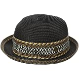 Rip Curl Junior's Tigress Fedora Sun Hat, Black, One Size