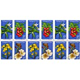 Endangered Flowers 12/15 Cent Us Postage Stamps Scot #1783-1786