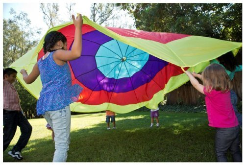 Pacific Play Tents Kaleidochute 12 Ft Parachute – New by Pacific Play Tents online kaufen