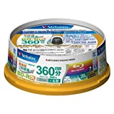 Verbatim Blu-ray Disc 20 Spindle - 50GB 4X BD-R DL - 2011by MITSUBISHI