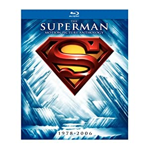 $56 Superman: The Motion Picture Anthology, 1978-2006 [Blu-ray]