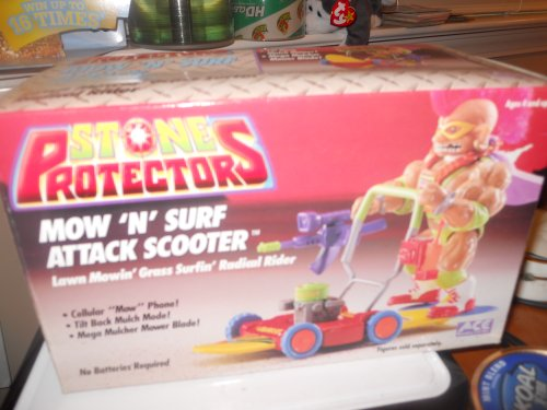 Stone Protectors Mow 'N' Surf Attack Scooter