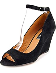STEVEN By Steve Madden Women S Precius Peep-Toe Wedge Pumps