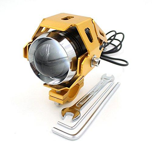 Vovotrade(Tm) Motorcycle 125W Cree U5 Led Driving Fog Head Spot Light White Lamp Headlight