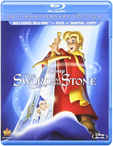 Blu-ray : The Sword in the Stone (50th Anniversary Edition) (With DVD, Anniversary Edition, Widescreen, 2 Pack, Digital Copy)