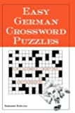 Easy German Crossword Puzzles (Language - German)