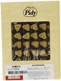 Pidy Mini Heart Pastry Shell Golden Brown Colour 96 Pieces