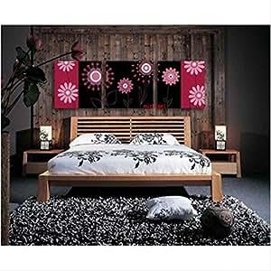 3 platten und sehr modernes wohnzimmer leinwand bild moderner wandschmuck f r schlafzimmer. Black Bedroom Furniture Sets. Home Design Ideas