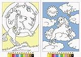 Malen nach Zahlen: Zauberponys hergestellt von Ravensburger Buchverlag