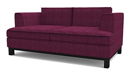Moreton 3 Sitzer Sofa lila, Couch , Jugendsofa, couchgarnituren, lounge möbel