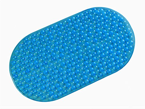 Tosnail Anti Slip Suction Bath Mat U2013 Non Slip Mats For Tub U0026 Shower  Bathroom Safety U2013 15u2033 X 27u2033 U2013 Ideal For Homes, Hotels, Gyms U0026 Long Term  Care Facilities ...