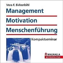 Management, Motivation und Menschenführung Hörbuch von Vera F. Birkenbihl Gesprochen von:  N.N.