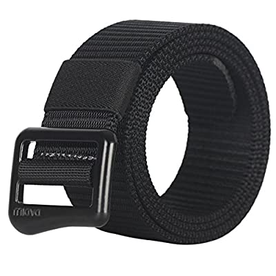 FAIRWIN Tactical Web Belt for Men, Nylon Military Style Casual Canvas Webbing Buckle Belt in Gift Box