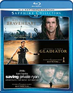 The Sapphire Collection (Braveheart/Gladiator/Saving Private Ryan) [Blu-ray]