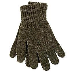 ICE BEAR Men's Gloves (WG01, Olive Green, Free Size)