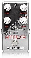 Alexander Pedals Amnesia ヴィンテージBBDサウンドを再現するデジタルディレイ アレクサンダーペダルズ アムネシア 国内正規品