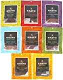 Krave (8 pack assorted) Sampler 3.25oz packets Gourmet Jerky