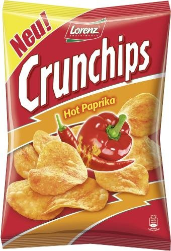 Crunchips Hot Paprika