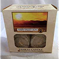 Yankee Candle Napa Valley Sun Tea Light Candles, Wine Scent