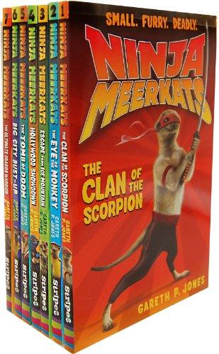 Gareth P. Jones Ninja Meerkats 7 Books Collection Pack Set RRP: 34.93 (The U...