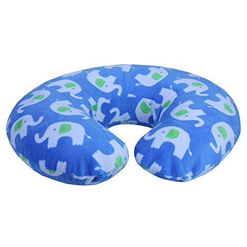 Sinomax Living Memory Foam Boppy Pillow, Blue Baby Toddler Nursing Feeding Nursing Pillows