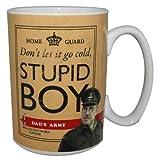 Official Dad's Army Mug Stupid Boy Pike & Mainwaring Gift Boxed