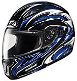 HJC CL-MAXBT II Atomic Bluetooth Modular Motorcycle Helmet (MC-2, X-Large)