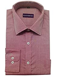 Blacksmith Men's Formal Shirt_1968096031BLSHIRTGIZA3_Peach Husk_38