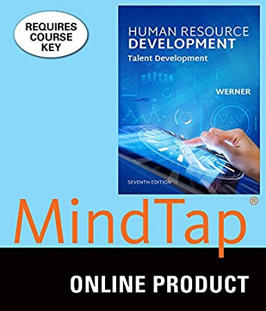 MindTap Management for Werner's Human Resource Development: Talent Development, 7th Edition