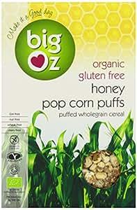 Big Oz Organic Honey and Maple Syrup Corn Puffs 250 g