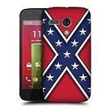 Head Case Designs Rebel Flag Redneck Pride Hard Back Case Cover for Motorola Moto G