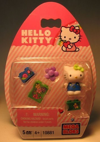 Mega Bloks Hello Kitty Snail With Purple Flower #10881