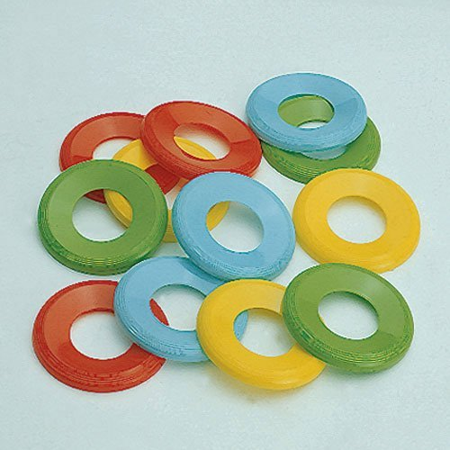 Lot Of 24 Assorted Color Mini Flying Discs