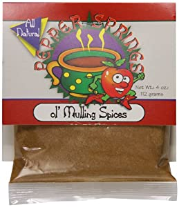 Pepper Springs Ol' Mulling Spices, 4.0 Ounce
