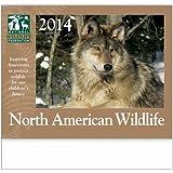 North American Wildlife Desk Calendar Trade Show Giveaway