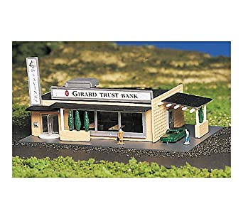 Bachmann Drive-In Bank - N Scale