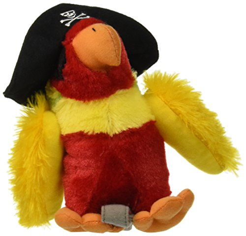 Fiesta Toys Pirate Parrot with Hat Stuffed Animal Plush Toy, 6""