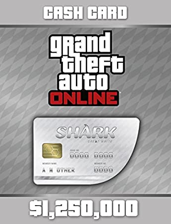 Grand Theft Auto Online: Great White Shark Cash Card [Online Game Code]