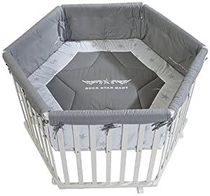 roba rock star baby 2 0232w rs2 hexagonal playpen white. Black Bedroom Furniture Sets. Home Design Ideas