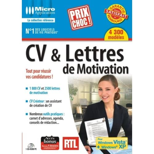 micro application - cv et lettres de motivation