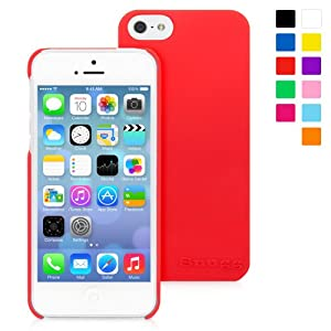 Snugg iPhone 5 / 5S Case - Ultra Thin Case with Lifetime Guarantee (Red) for Apple iPhone 5 / 5S