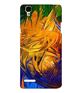 EPICCASE Modern Art Mobile Back Case Cover For Oppo F1 (Designer Case)