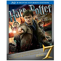 Harry Potter & The Deathly Hallows: Part 1 & 2 [Blu-ray]