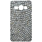 Stone Tile Pattern White Back Cover Case For Samsung Galaxy Ace 3 S7272