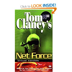 Virtual Vandals (Net Force Explorers) by Tom Clancy, Steve Pieczenik and Diane Duane