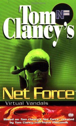 Virtual Vandals (Net Force Explorers) front-980129