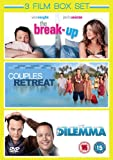 3 Film Box Set: The Dilemma / Couples Retreat / The Break Up [DVD]