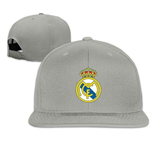 sunny-fish6hh-adjustable-real-madrid-cf-logo-baseball-caps-hat-unisex-ash
