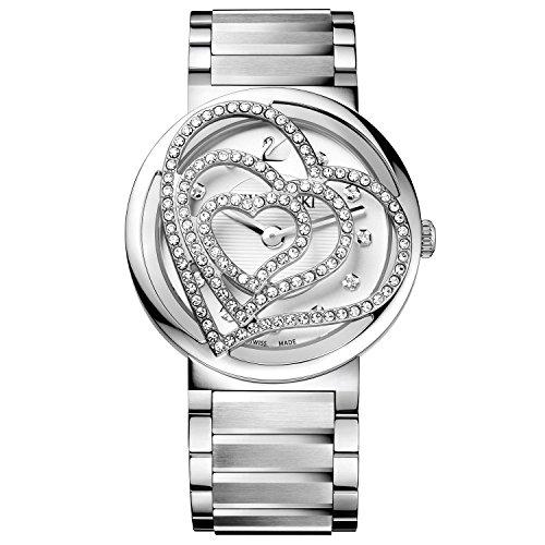 Orologio donna da polso in acciaio Swarovski Citra Sphere Heart Edition 1130167